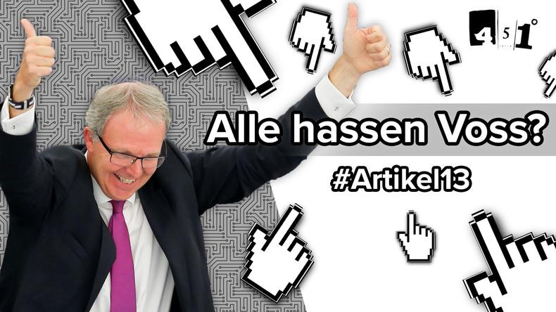 Axel Voss - Der meistgehasste Mann des Internets? | 451 Grad