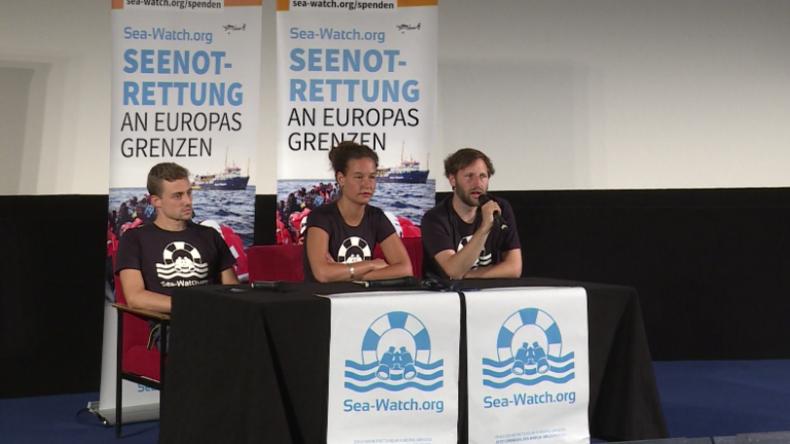 Sea Watch: Werden unsere Mission auf dem Mittelmeer fortsetzen und Menschenrechte durchsetzen