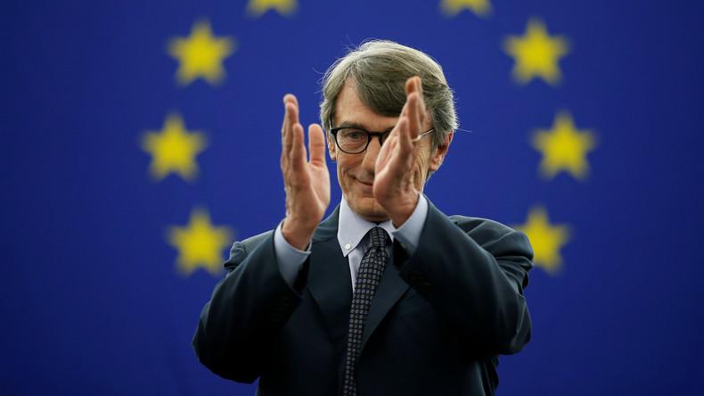 Italienischer Sozialdemokrat Sassoli wird Präsident des EU-Parlaments