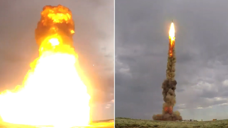 """Russische Armee testet """"brandneue"""" Luftabwehrrakete"""