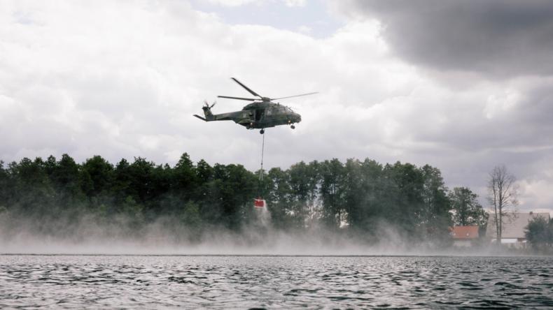 Waldbrand in Mecklenburg dauert an – Munition erschwert Löscharbeiten