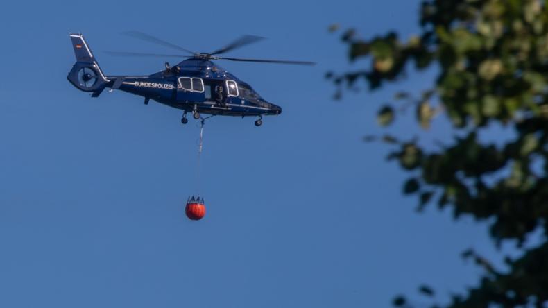 Waldbrand in Mecklenburg eingegrenzt – Einsatzkräfte hoffen auf Regen