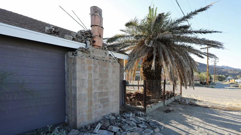 Schweres Erdbeben erschüttert Süden Kaliforniens