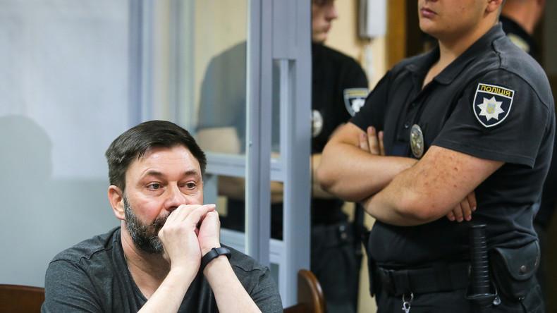 """Sacharowa: Wyschinskij-Prozess ist """"Zirkus"""" und """"Erniedrigung"""" für die Ukraine"""
