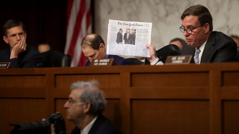 """Eine Frage der """"nationalen Sicherheit"""": Die Symbiose zwischen New York Times und US-Regierung"""