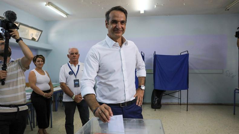Griechenland: Syriza abgewählt - Konservative Nea Dimokratia stärkste Kraft