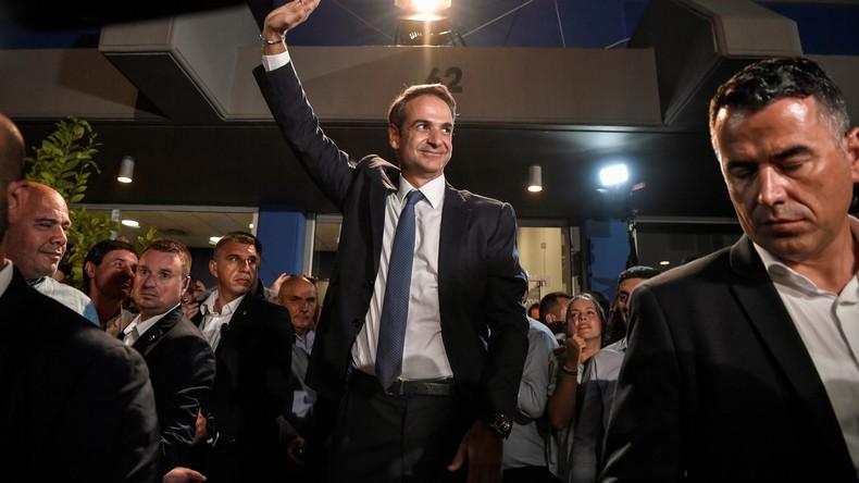 Künftiger griechischer Premier Kyriakos Mitsotakis soll heute vereidigt werden