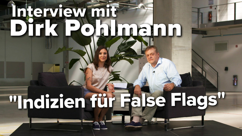 Interview mit Dirk Pohlmann: Woran man False-Flag-Operationen erkennt