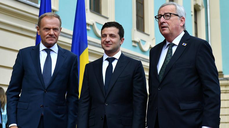 LIVE: EU-Ukraine-Gipfel in Kiew - Pressekonferenz