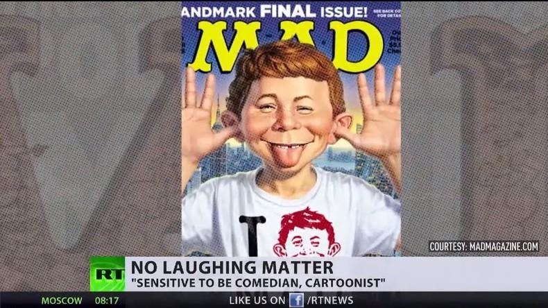 """MAD-Magazin wegen """"politischer Korrektheit"""" am Ende (Video)"""