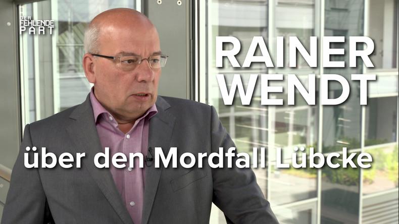 """""""Es geht um weit mehr als einen Einzelfall!"""" - Polizei-Experte Rainer Wendt über Mordfall Lübcke"""