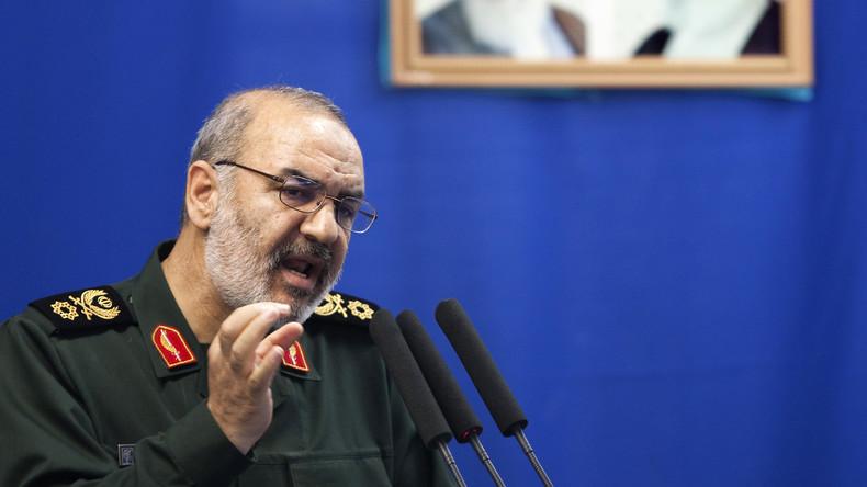 Oberkommandeur der Revolutionsgarde kritisiert US-amerikanische Nuklearsanktionen gegen Iran