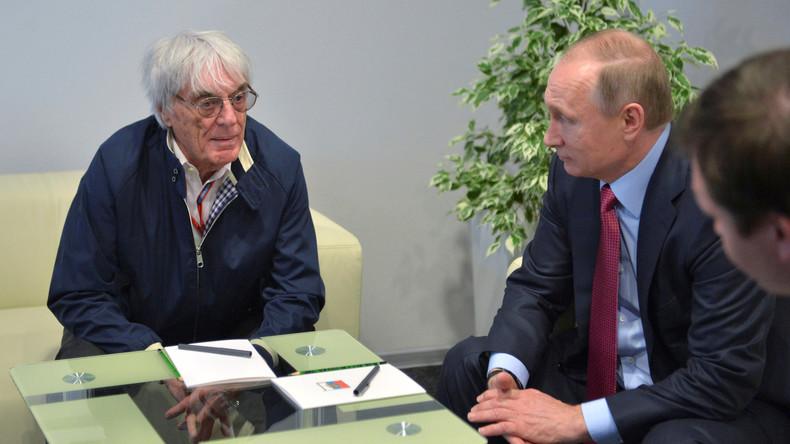 """""""Ein guter Kerl"""" – Ehemaliger Formel-1-Chef Ecclestone würde sich für Putin eine Kugel fangen"""
