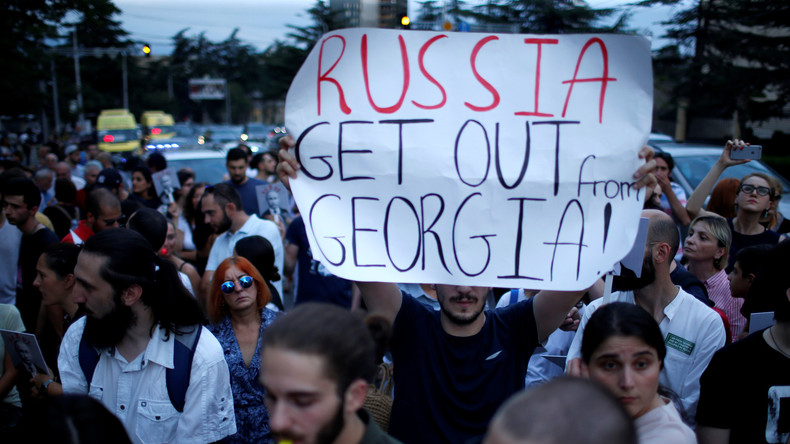 """""""Aus Respekt vor dem georgischen Volk"""": Putin will keine Sanktionen gegen Georgien (Video)"""