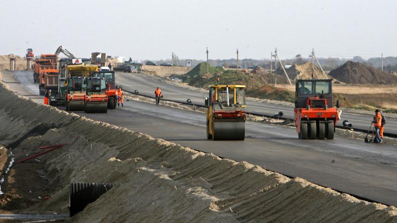 Neue Seidenstraße: Russland baut 2.000 Kilometer Autobahn zwischen Europa und China