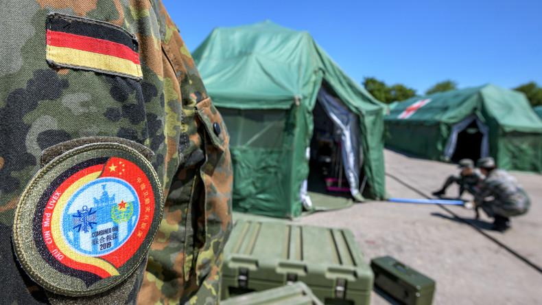 Chinesische Truppen in Bayern: Volksbefreiungsarmee und Bundeswehr trainieren Ernstfall