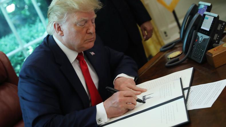 US-Regierung bereitet sich auf Machtdemonstration gegen die EU vor
