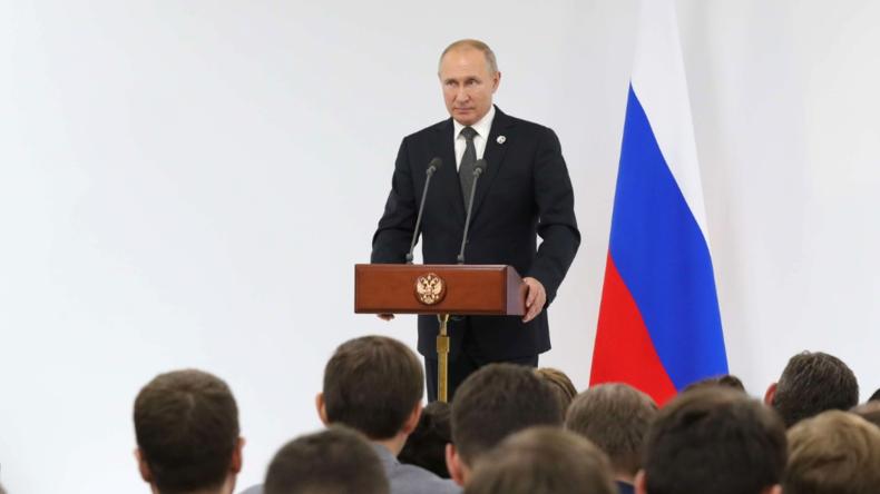 """Putin: Im Westen geht es mit der Migration und der """"Sexualaufklärung"""" bei Kindern viel zu weit"""