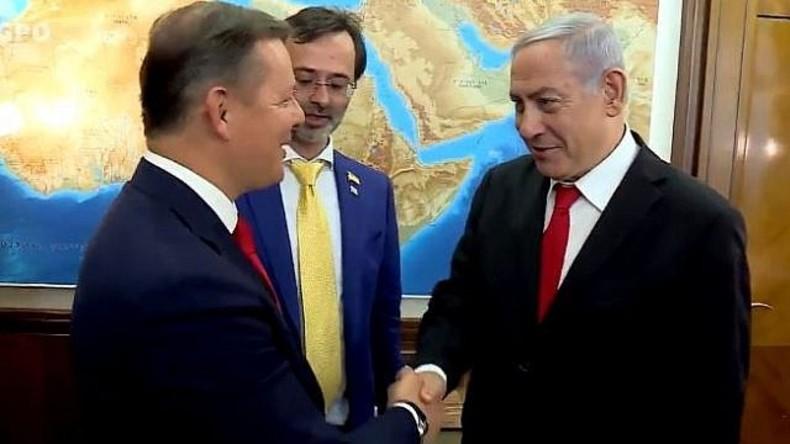 Israelische Doppelmoral: AfD-Politiker schlecht, ukrainischer Rechtsradikaler gut