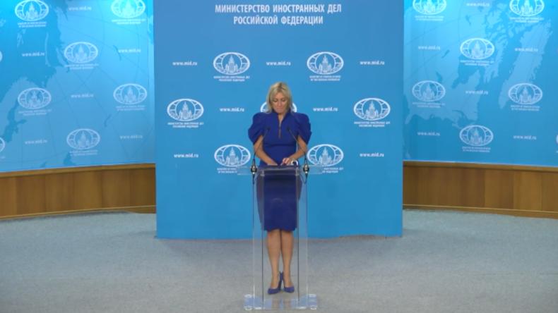Sacharowa: Für britische Medien könnte das Konsequenzen haben
