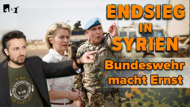 Bundeswehr - Endsieg in Damaskus? | GEZ-Zensur | USA: Endlich für Menschenrechte | 451 Grad