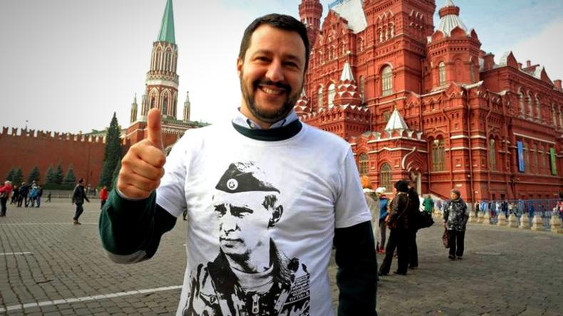 Salvini bestreitet Behauptungen, Lega habe russische Investoren um Geld gebeten