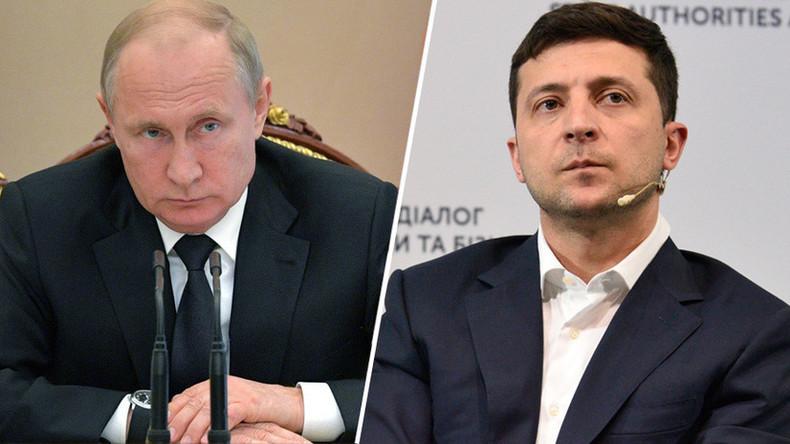 """""""Moskau immer bereit zu Gesprächen über Ukraine"""" - Putin nach Telefonat mit Selenskij"""