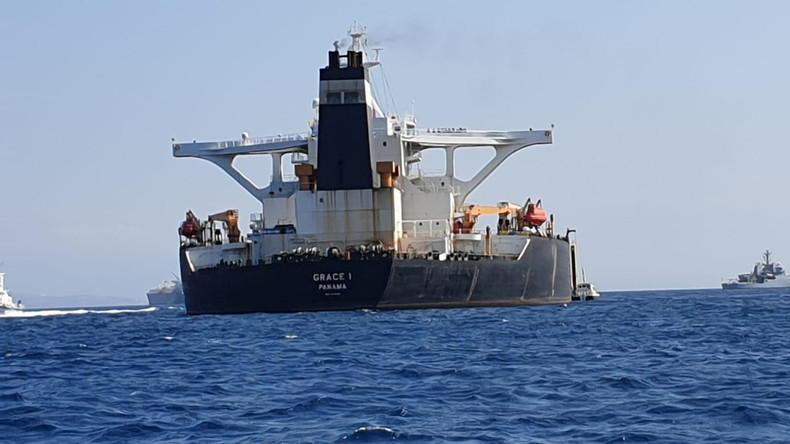 Kapitän und Erster Offizier von Öltanker Grace 1 in Gibraltar festgenommen