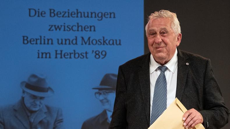 Egon Krenz stellt neues Buch vor: Wir und die Russen