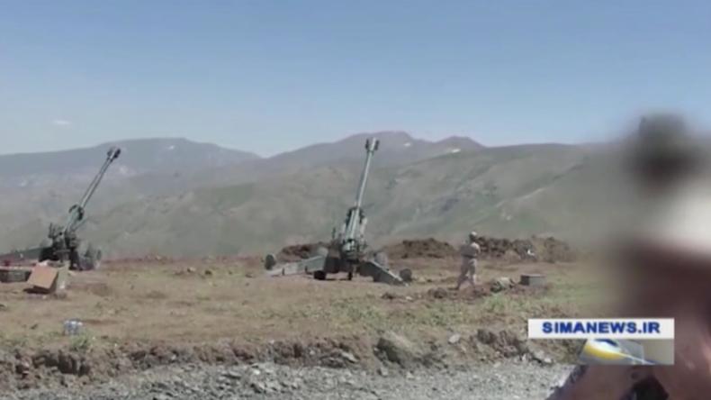 Irak: IRGC startet Luftangriffe auf oppositionelle Kräfte im irakischen Kurdistan