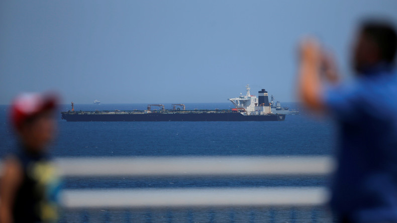 Kapitän und Offizier von iranischem Tanker in Gibraltar festgenommen