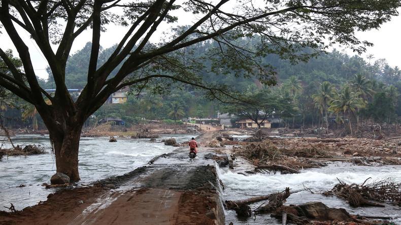Schwere Verwüstungen und Dutzende Tote nach Monsunregen in Indien, Nepal und Bangladesch