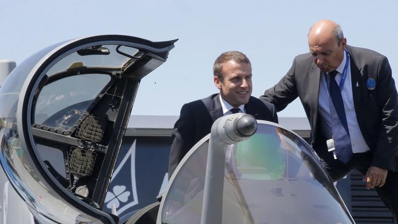 Emmanuel Macron kündigt Aufbau eines militärischen Weltraumkommandos an