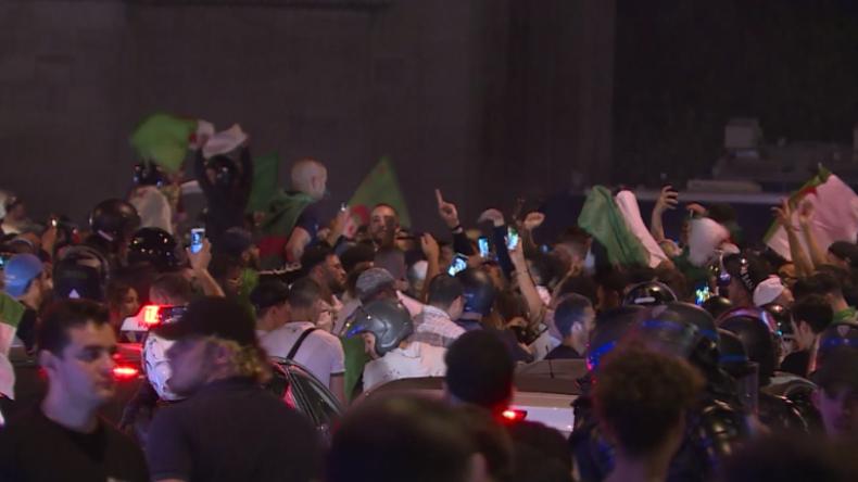 CAN-Final-Einzug: Über 280 Festnahmen wegen randalierender algerischer Fußballfans in Frankreich