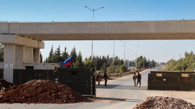 Bombenanschlag auf Patrouille der russischen Militärpolizei in Syrien