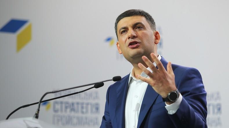 Ukrainischer Premier: Zugverbindung mit Russland kann unmöglich unterbrochen werden