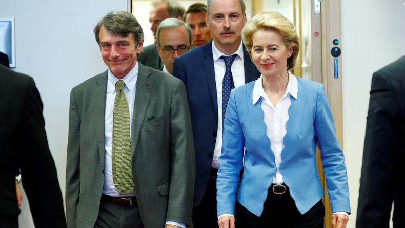 LIVE: EU-Parlament nach der Wahl von der Leyens zur EU-Kommissionspräsidentin