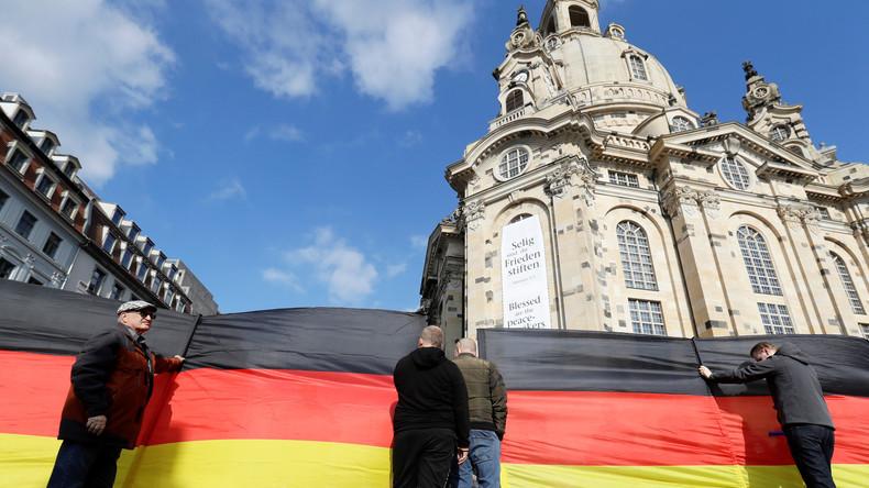 Mehrere Rechtsverstöße am Rande von Merkel-Besuch in Dresden
