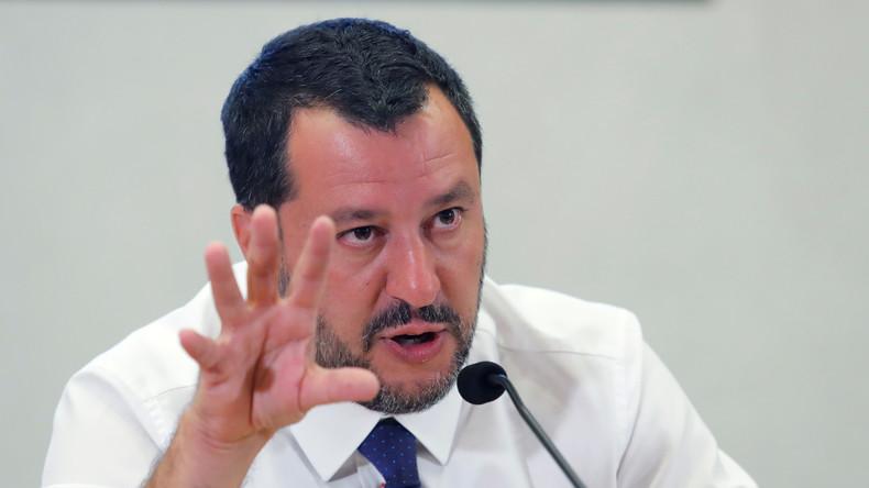 Italienischer Innenminister: Waffenfund steht im Zusammenhang mit Attentatsplan ukrainischer Gruppe
