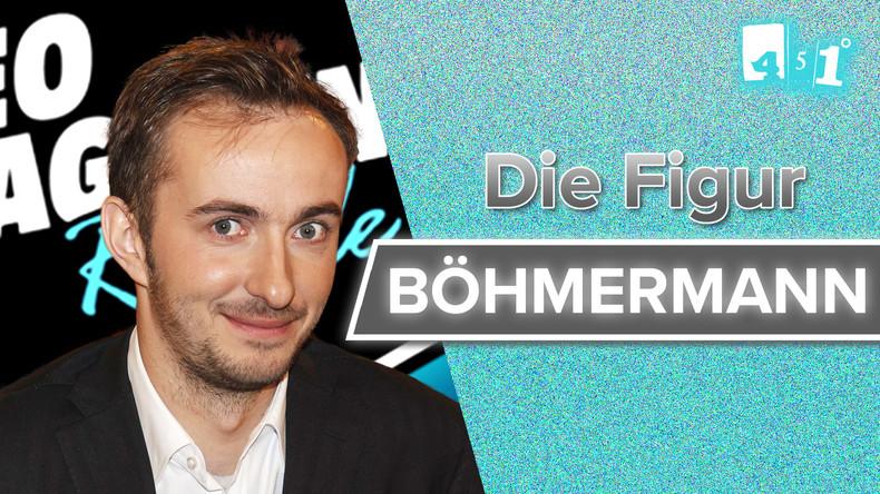 Jan Böhmermann - Clown mit Haltung? | 451 Grad