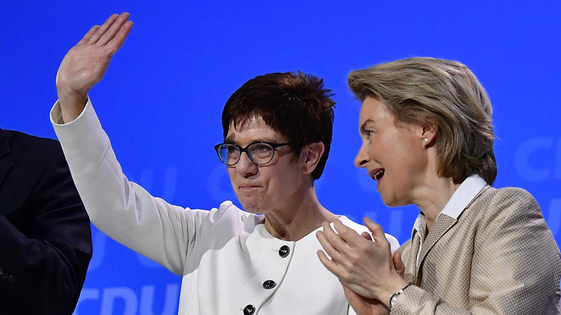 CDU-Chefin Kramp-Karrenbauer soll neue Verteidigungsministerin werden