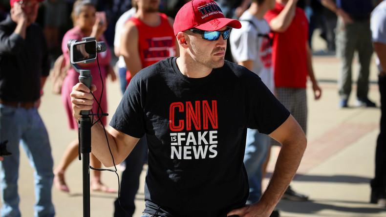"""WikiLeaks, RT und die US-Wahlen: CNN verbreitet alte Fake News als """"Exklusivbericht"""""""
