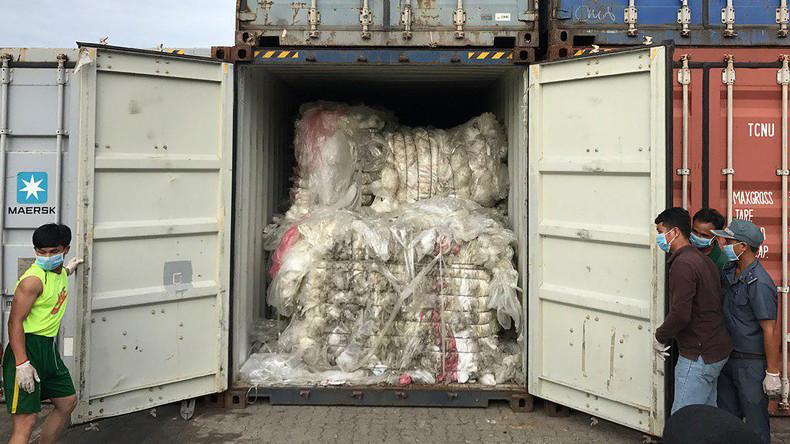 """""""Wir sind kein Mülleimer"""": Kambodscha sendet 1.600 Tonnen Müll an USA und Kanada zurück"""