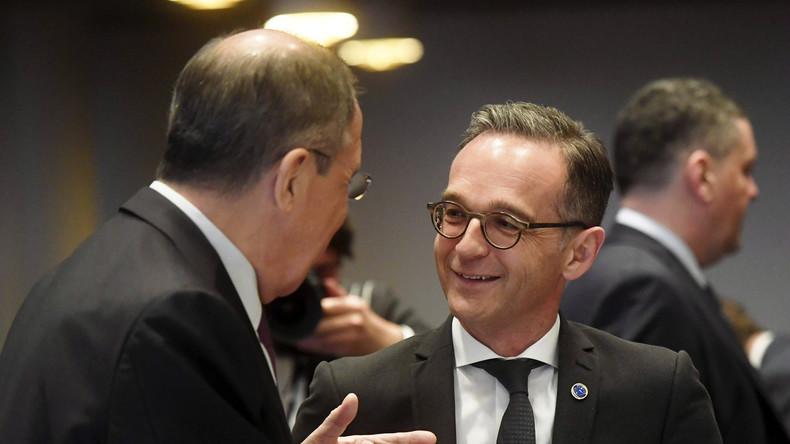 Russischer Außenminister Lawrow sieht Deutschland bei Friedensförderung für Donbass in der Pflicht