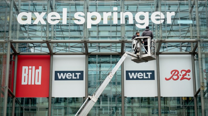 Krise setzt sich fort: Verkaufszahlen der Springer-Blätter BILD und Welt im freien Fall