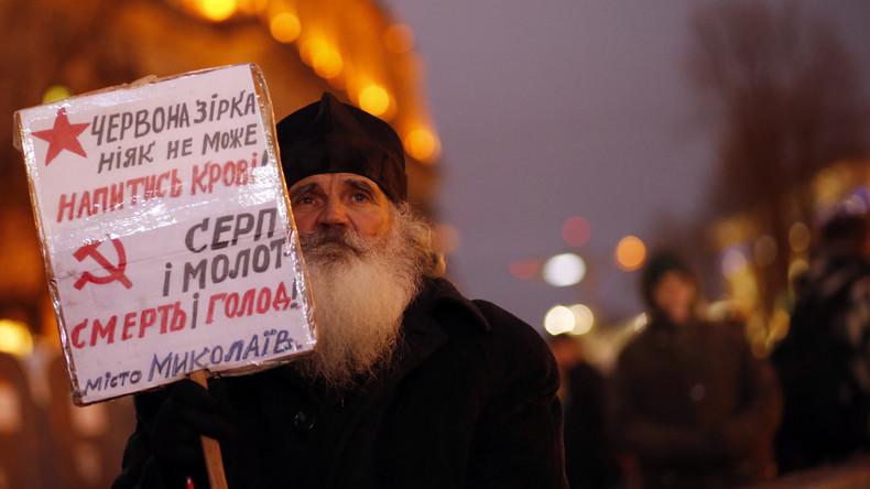 Ukrainisches Verfassungsgericht bestätigt Gesetz: Kommunismus gleich Nazismus