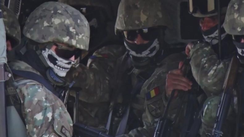 "Bulgarien: Multinationale NATO-Übungen ""Platinlöwe 2019"" in Nowo Selo"