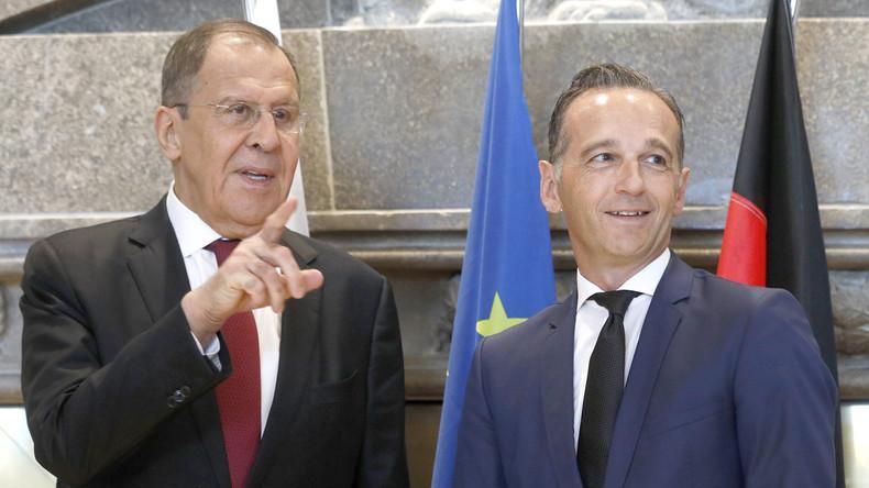 """Heiko Maas zu RT Deutsch: Nord Stream 2 """"außerordentlich sinnvolles Projekt"""" (Videos)"""