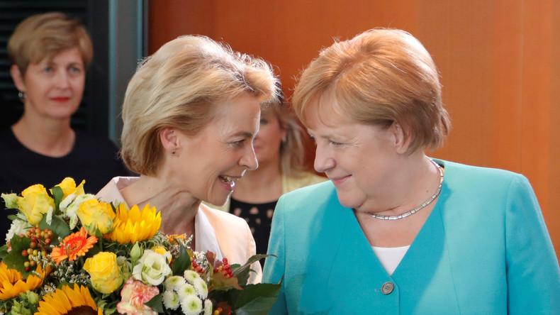 Letzter Akt vor dem Urlaub - Merkel gibt Sommerpressekonferenz