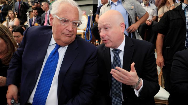 US-Friedensplan zwischen Israelis und Palästinensern ohne politische Zustimmung sinnlos